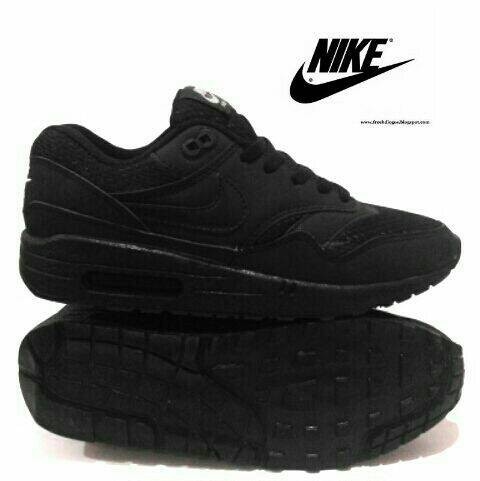 Jual Grosir Sepatu Nike Airmax Murah Keren Full Hitam Sekolah ... a3fc2433d1