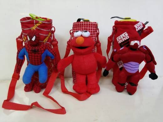 harga Tas botol minum spiderman,elmo,big hero 6 Tokopedia.com