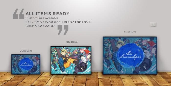 harga Poster anime: naruto shipuuden [30x40cm] Tokopedia.com