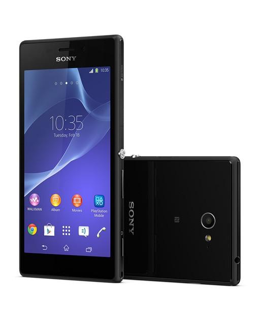 Sony xperia m2 single black garansi resmi sony indonesia