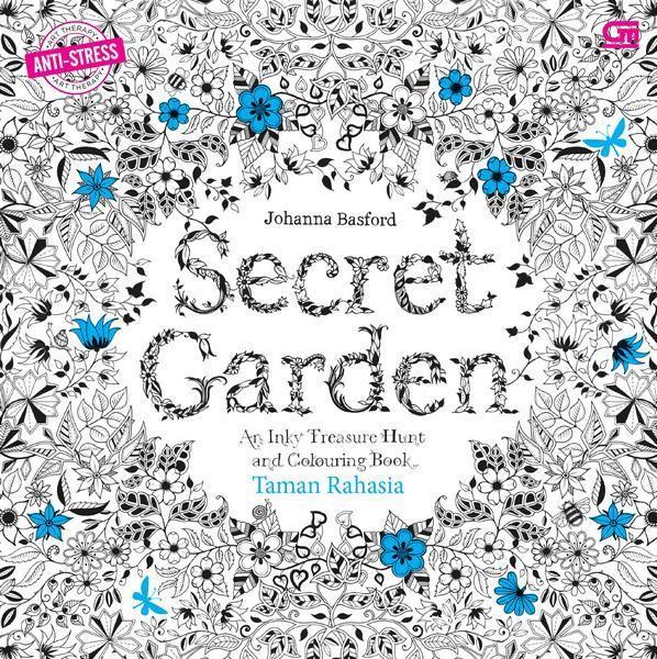 Jual Anti Stres Taman Rahasia Secret Garden Coloring Book For Adults Kota Bandung Suci Puji Lestari Tokopedia
