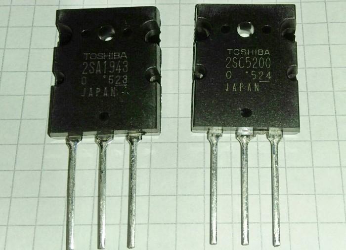 Jual Transistor 2SA 1943 - 2SC 5200 TOSHIBA Set - Kab  Kuningan - dkenstore    Tokopedia