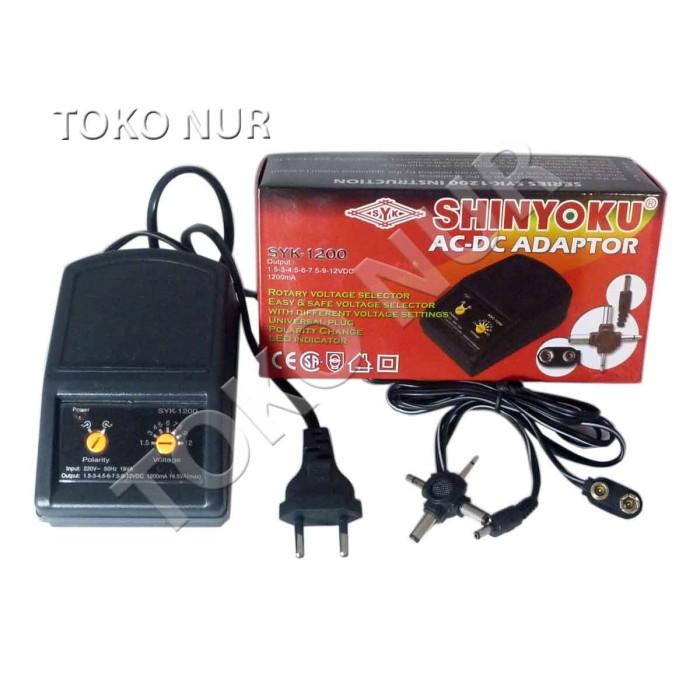 Foto Produk Adaptor AC-DC Shinyoku 1200mA, SYK1200 dari sandal lily