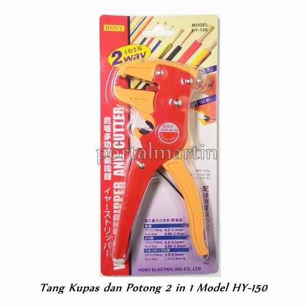 Tang kupas dan potong kabel hony hy-150 kualitas bagus