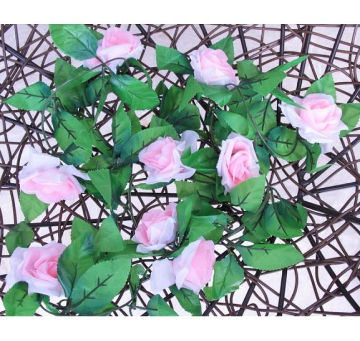 harga Blooming rose flower vine / bunga mawar artificial dekorasi Tokopedia.com