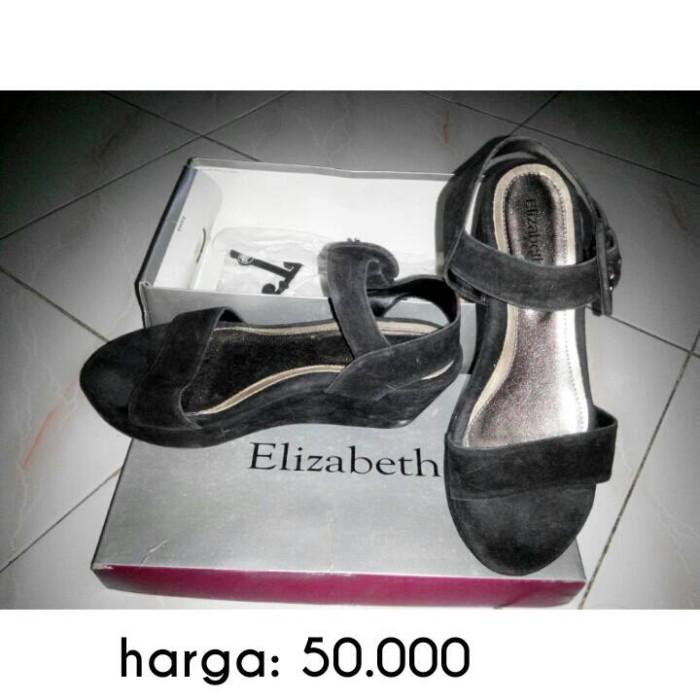 9442110d447f Jual sandal wedges size 37 merk Elizabeth - Kab. Jember - muliya ...