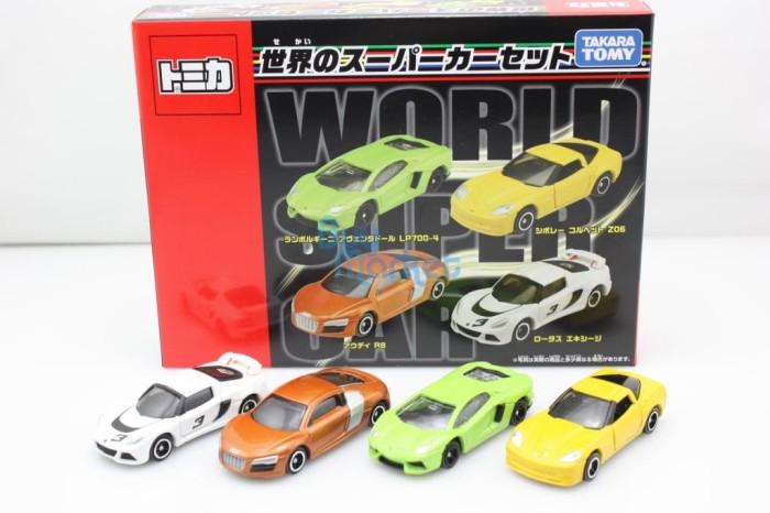 harga Giftset world super car tomica takara tomy Tokopedia.com