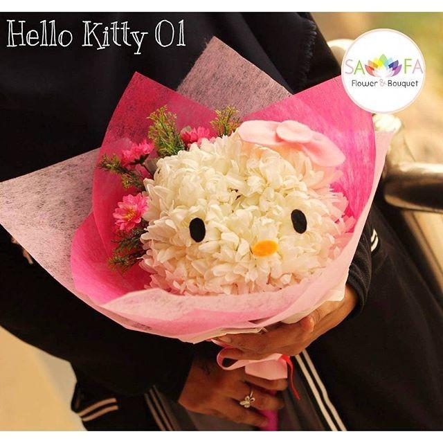 Foto Produk Bunga Bouquet Hello Kitty 01 dari Rikky Suryadi