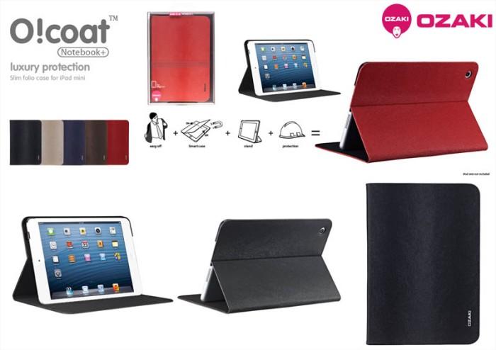 harga Ozaki ocoat notebook plus smart flip cover case ipad mini - retina - 2 Tokopedia.com