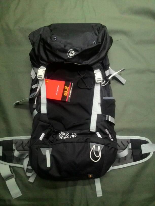 Jual Jack Wolfskin Alpine Trail 40 Kota Bandung forester Outdoor Gear | Tokopedia