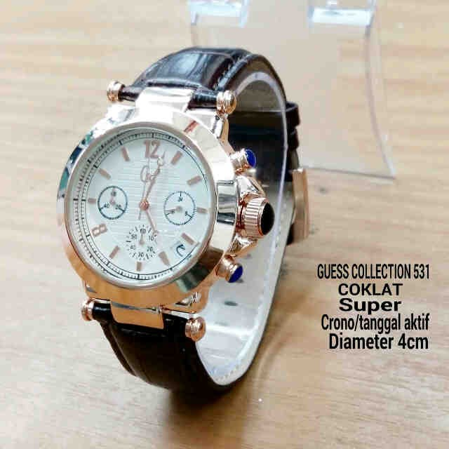 Stainless Source · GSL03BR Jam Tangan Wanita Guess Collection Gc Chrono Aktif BROWN .