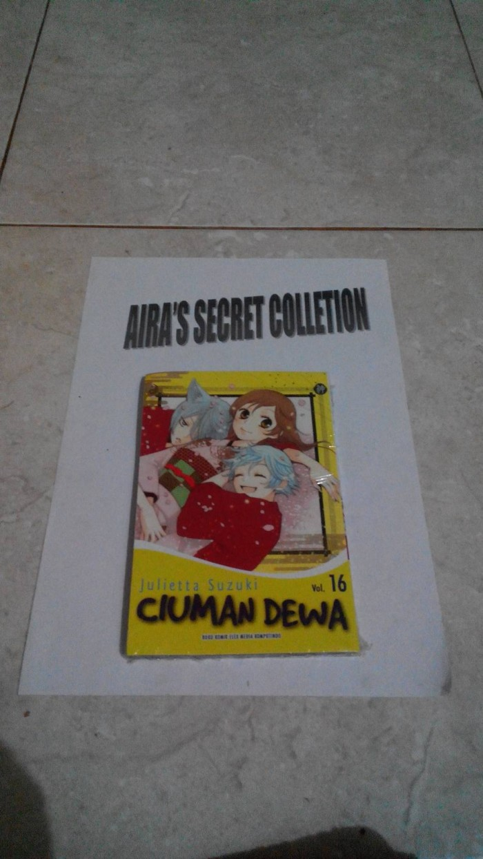 Jual Komik Ciuman Dewa 16 Kota Palembang Aira S Secret Collection