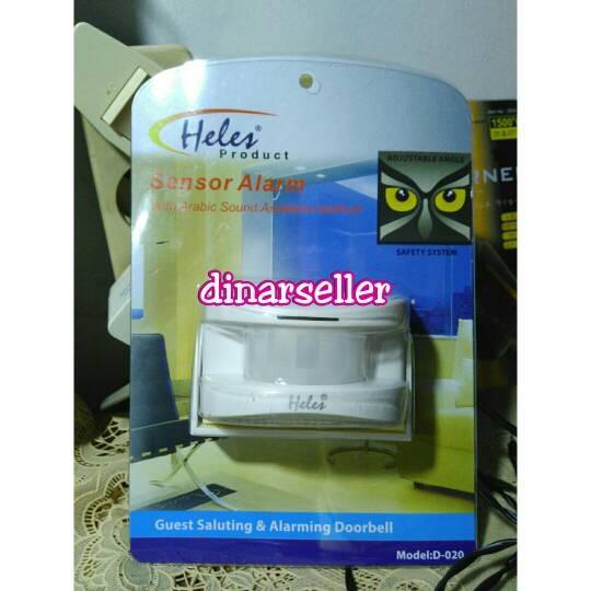 harga Heles bel sensor alarm doorbell sensor gerak Tokopedia.com