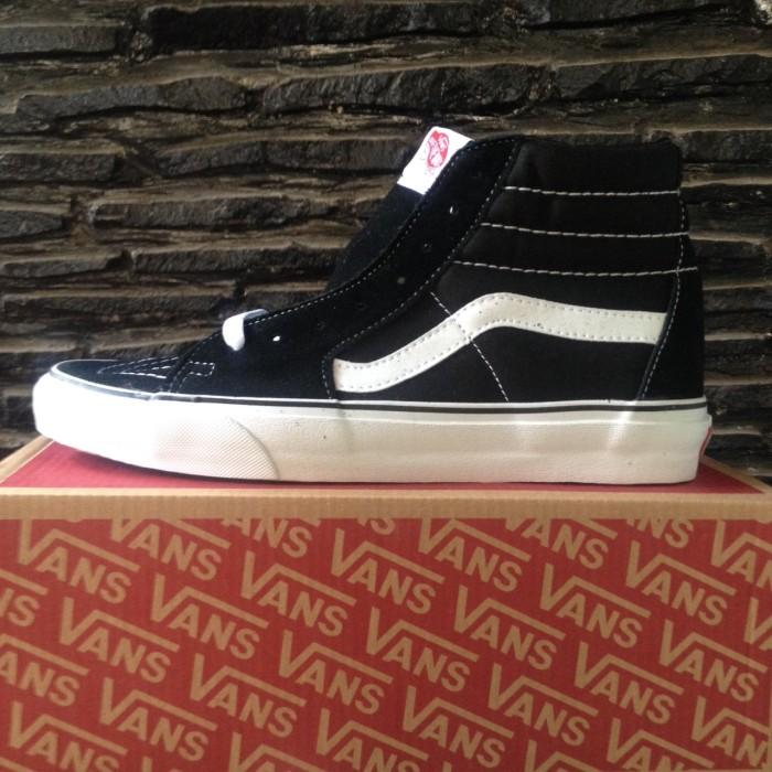 Jual Vans Sk8 HI Black White Original - MiXMACS  40b6b01c4d