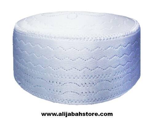 Foto Produk Kopiah Peci Songkok SPON PUTIH dari Grosir Al Ijabah Store