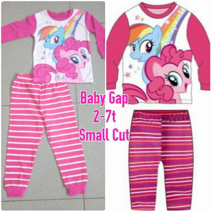 harga Piyama import my little pony mlp kaos baby gap Tokopedia.com