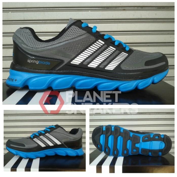 super popular a7206 0b740 ... shoes fluorescent green black 8faa8 0fadf; discount jual sepatu adidas  springblade adiprene grey blue db3dc 839b7