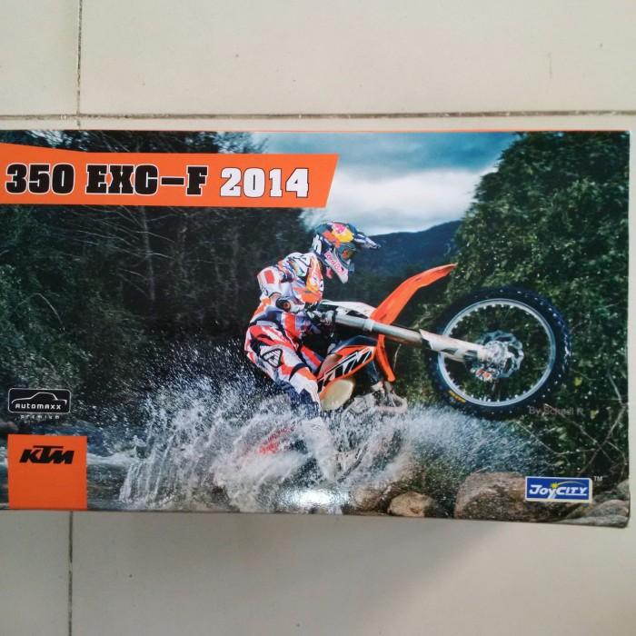harga Ktm 350 exc-f 2014 orange trail bike joycity premium Tokopedia.com