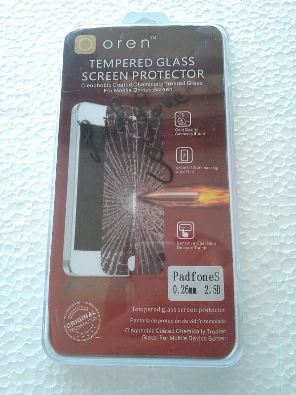 harga Tempered glass asus padfone s Tokopedia.com