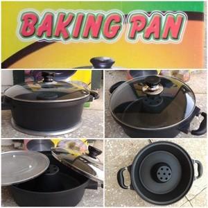 Jual Baking Pan 28 Cm Panci Teflon Anti Lengket Buat Kue