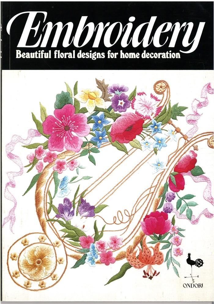 harga Buku ondori  embroidery beautiful floral designs for home decoration Tokopedia.com
