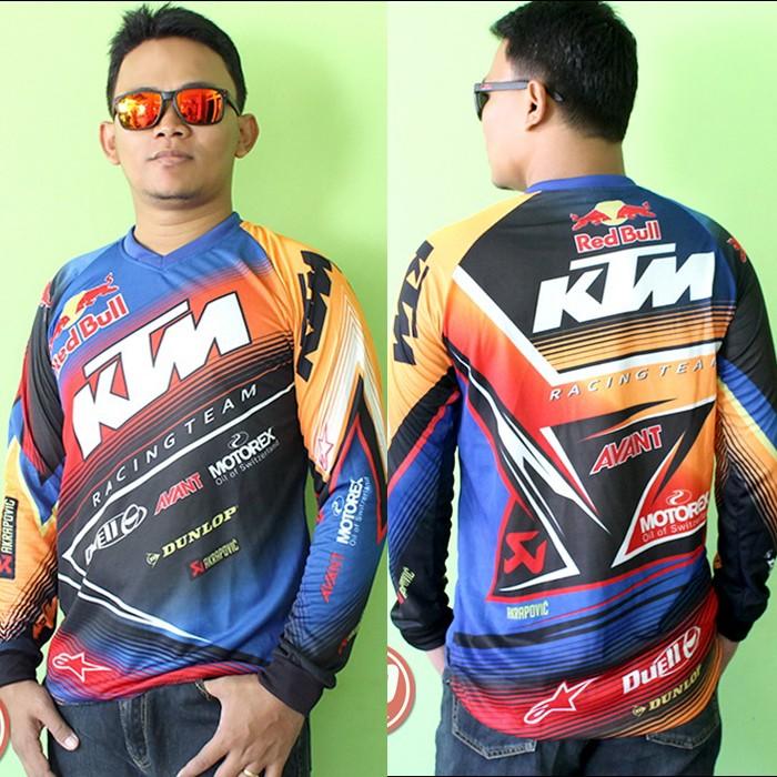 harga Jersey dryfit motocross ktm racing #panjang Tokopedia.com