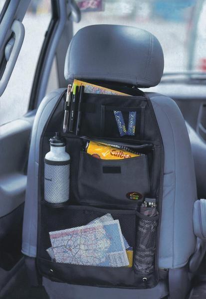 tempat organiser mobil/car seat back organizer bag