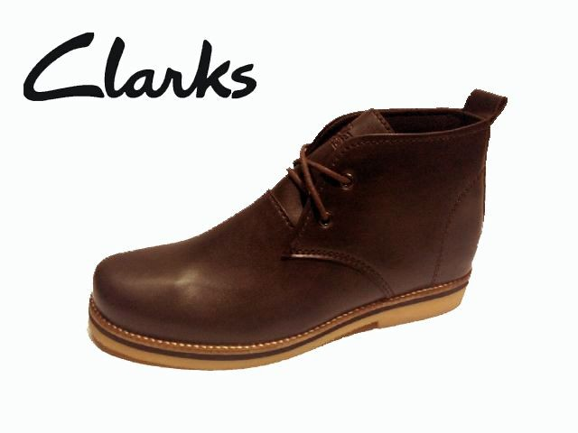 Jual Sepatu Clarks Boots Brown Hand Made Original Murah  70 - Gudang ... 71c8e039f4
