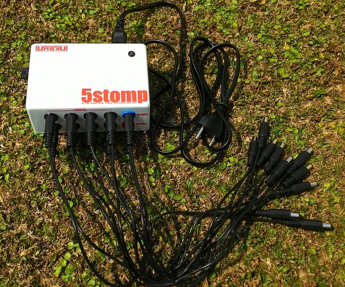 harga Power supply stompbox terbaik&termurah unoku 5 stomp 10out 9+12+18v Tokopedia.com