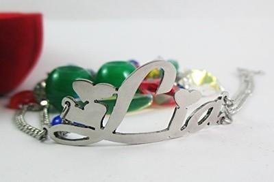 Gelang Nama Monel - Perhiasan Nama