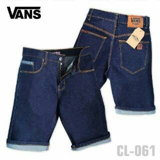 harga Celana skinny jeans pendek vans/levis/dc/cheapmonday biru dongker Tokopedia.com