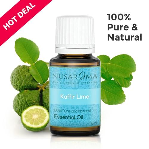 Kaffir Lime Essential Oil (Minyak Jeruk Purut) 10 ml | 100% Pure