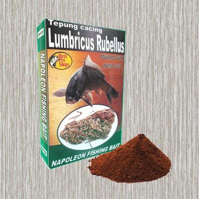 harga Tepung cacing lumbricus berkualitas untuk campuran umpan segala ikan Tokopedia.com