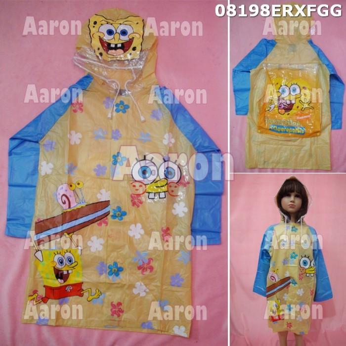 Jas hujan anak spongebob /karakter 08198