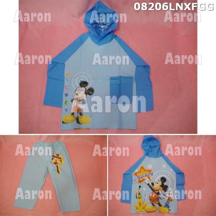 Jas hujan anak stelan mickey mouse /karakter 08205