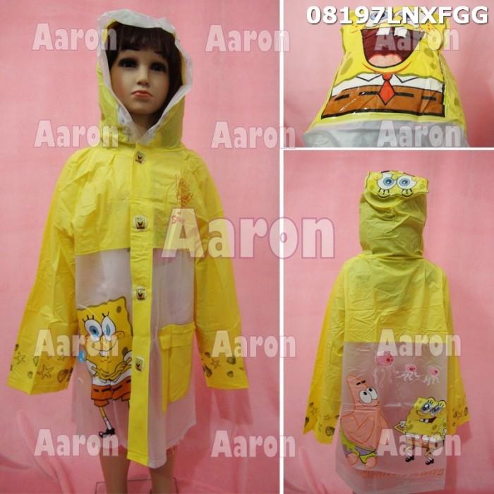 Jas hujan anak spongebob /karakter 08197