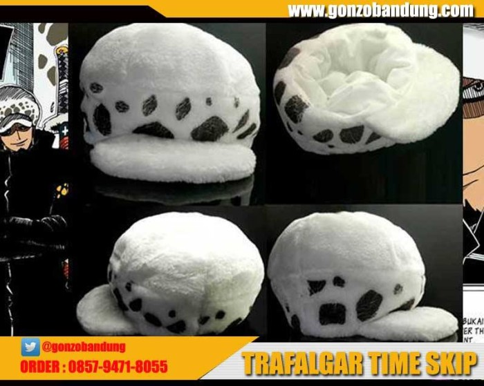 harga Topi trafalgar law time skip Tokopedia.com