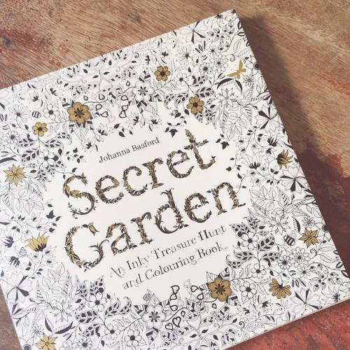 Secret Garden Taman Rahasia Coloring Book For Adults