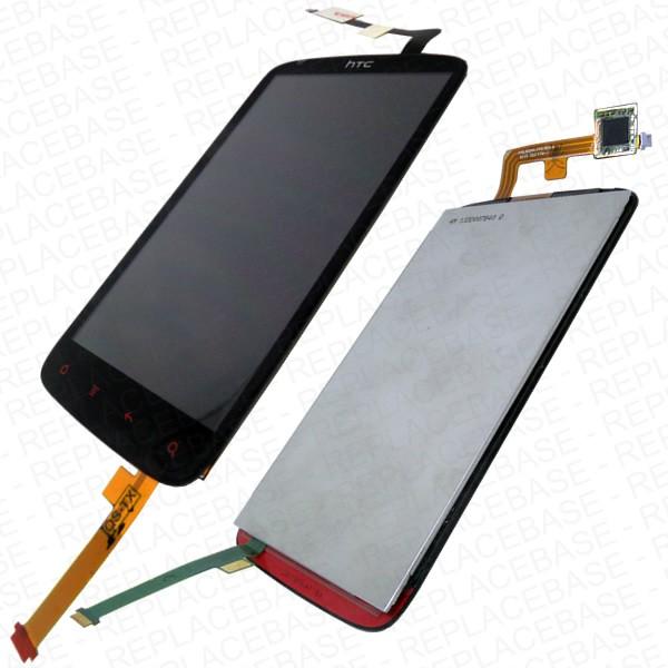 Lcd + Touchscreen Htc G18 (sensation Xe Z715e) Black Ori (900946)