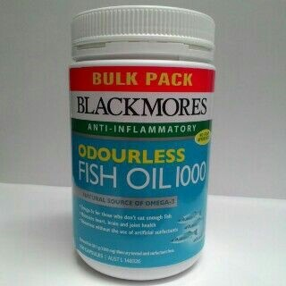 jual blackmores odourless fish oil 500 capsules bulk pack