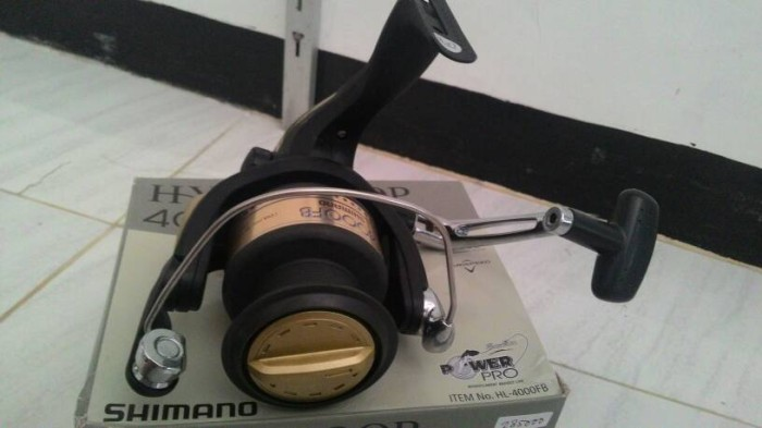 Reel shimano hyperloop 1000