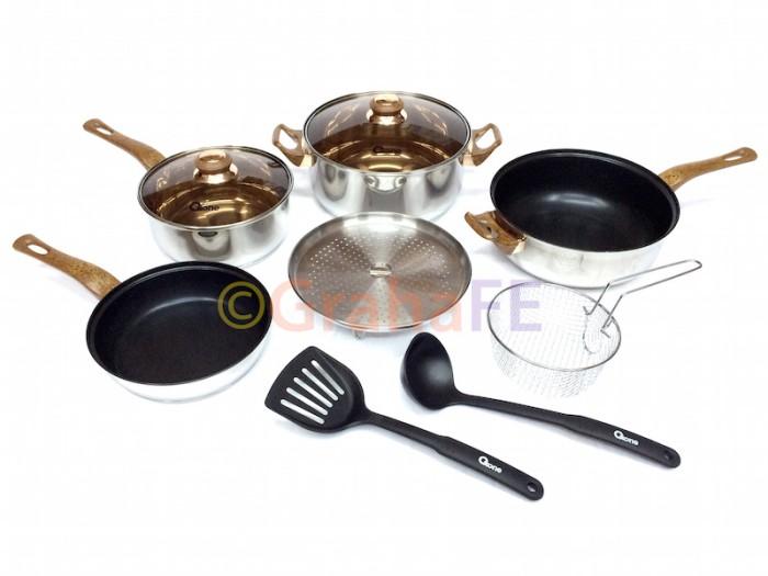 Oxone basic cookware set (panci) ox-911