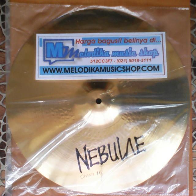 harga Cymbal crash nebulae 16 Tokopedia.com