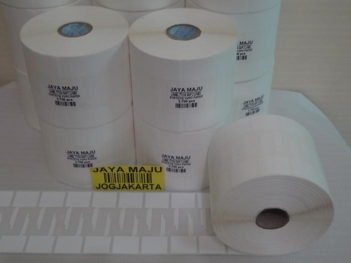 harga Label barcode yupo 77 x 24 core 1  isi 3.700 untuk toko emas/jewelery Tokopedia.com