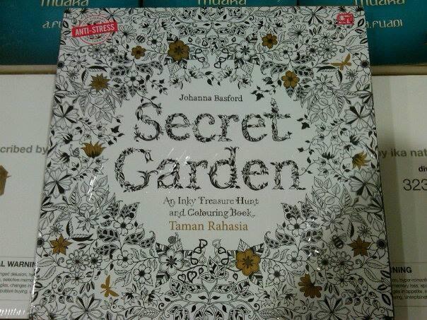 Jual Secret Garden Taman Rahasia Coloring Book For Adults