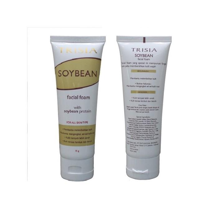 Trisia Soybean Facial Foam