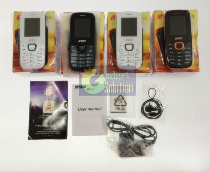harga Prince pc-1 / pc100  |  dual sim  |  camera  |  mp3/4  |  fm radio  | Tokopedia.com