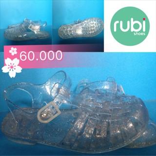 c11bfc92b Jual Rubi Jessica Jelly Sandal Size 35 clear glitter - Kab. Bandung ...