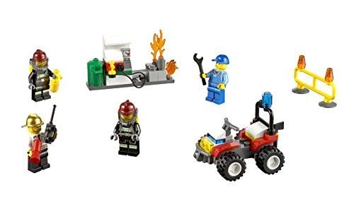 Jual Lego City 60088 Fire Starter Set Building Toys New Police