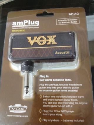 harga Vox ap-ag amplug acoustic headphone guitar amplifier Tokopedia.com